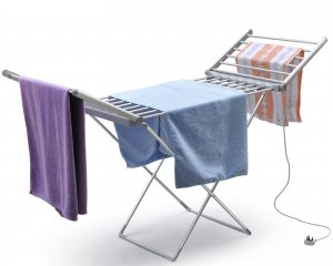 Heated Folding Clothes Drying/Airer Laundry Stand