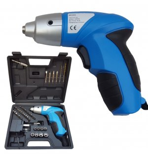 PRO 44PC 4.8V ELECTRIC RECHARGEABLE BATTERY CORDLESS SCREWDRIVER