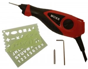ELECTRIC ENGRAVING TOOL FOR WOOD METAL GLASS