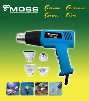 HOT AIR HEAT GUN 2000W WALL PAPER PAINT STRIPPER