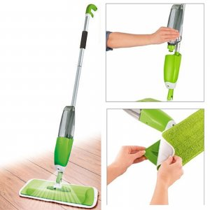 Spray Mop Water Spraying Floor Cleaner Tiles Microfibre Marble K