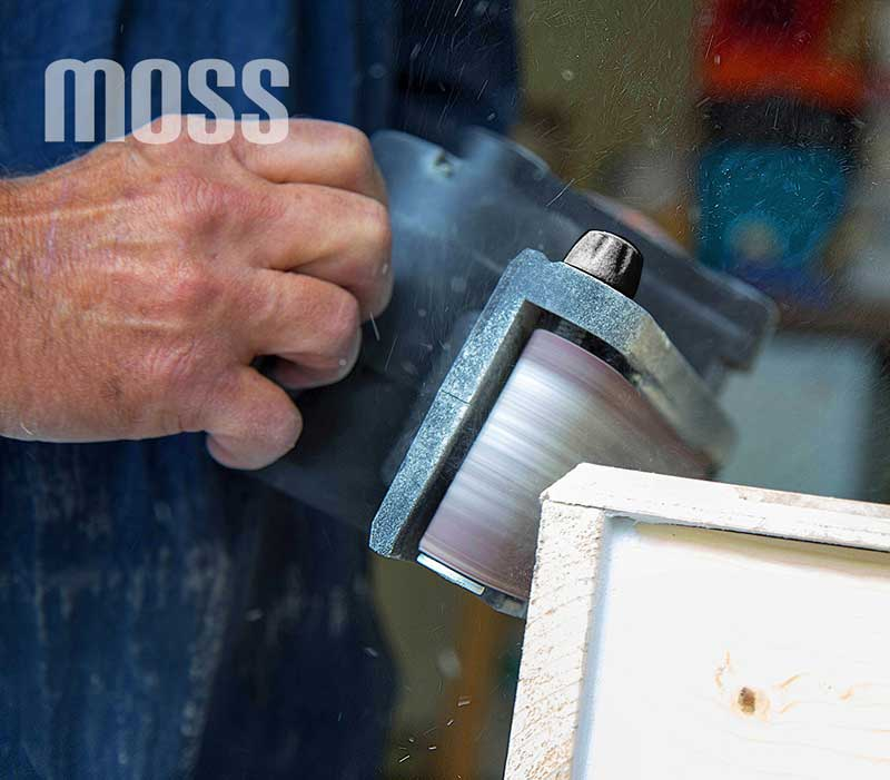 3pc grain 80 ceinture 800 W Electric Belt Sander ponçage machine Powertool Sac à Poussière