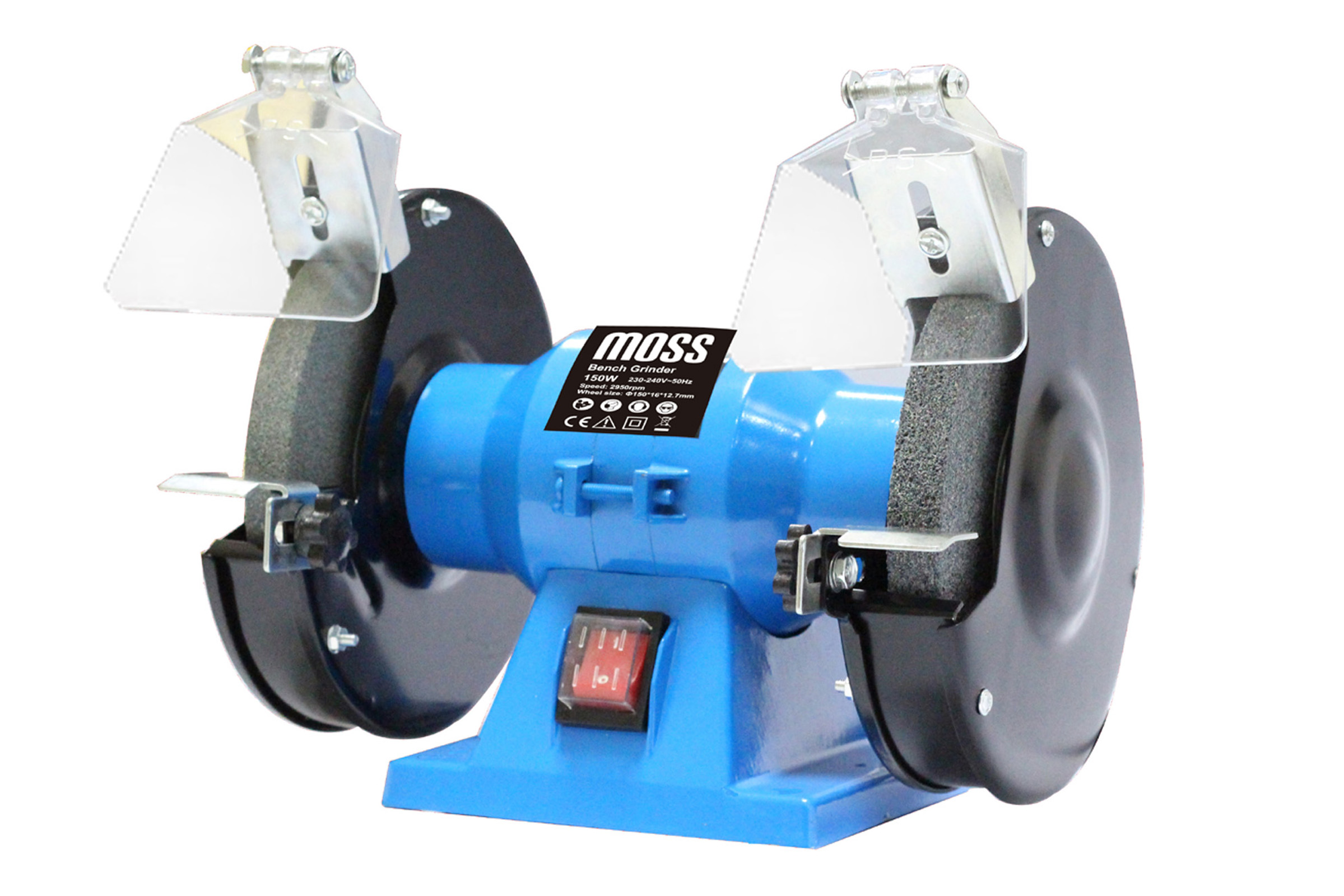 Wondrous Details About Bench Grinder 150W 6 150Mm Twin240V Grindstone Grinding Stone Workshop Garage Caraccident5 Cool Chair Designs And Ideas Caraccident5Info