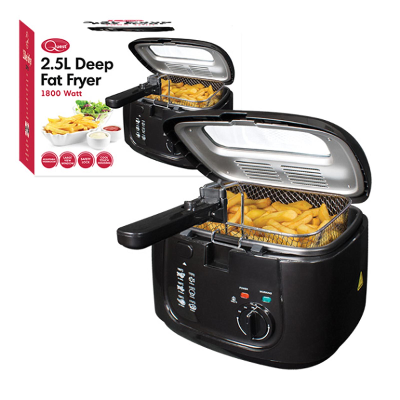2 5l Electric Deep Fat Chip Fryer Non Stick Pan Amp Safe